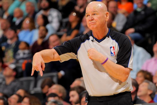 Joey Crawford Will Referee Game 2 of Heat-Spurs 2013 NBA Finals