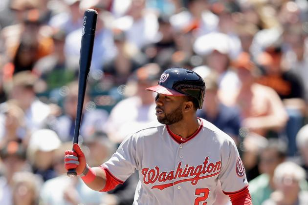 Denard Span out of Game 1 vs. Twins