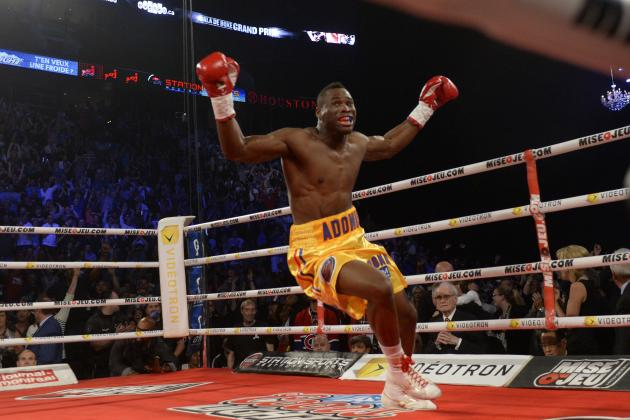 Adonis Stevenson Destroys Chad Dawson, Wins Light Heavyweight Title