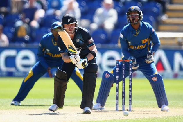 ICC Champions Trophy 2013: New Zealand vs Sri Lanka Score, Points Table and More