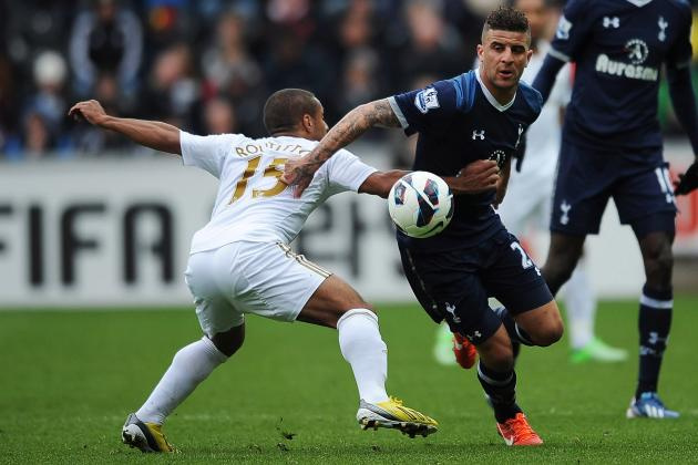 Tottenham Hotspur: Charting the Progress of Spurs Full-Back Kyle Walker