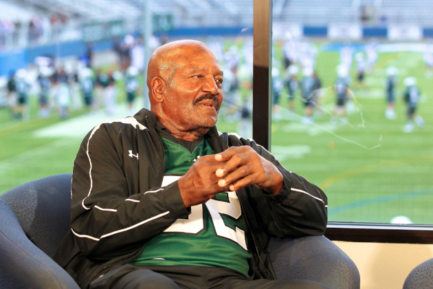 Jim Brown Says NFL Must Catch Up to NASCAR in Safety