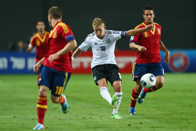 Germany vs. Spain: Score and Recap for Euro U-21 Championship Match
