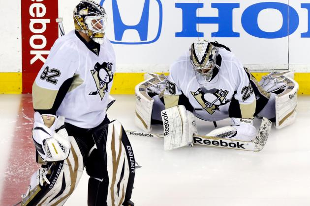 Pens Coach: Fleury to Regain Job Next Season