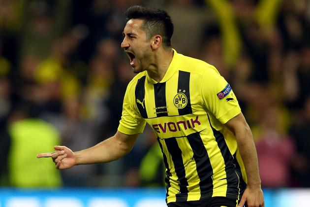 Arsenal Transfer Rumours: Ilkay Gundogan Is Only a Pipe Dream for Gunners