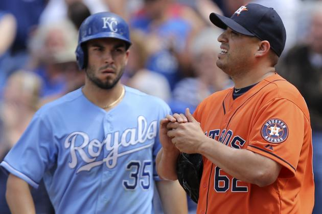 Royals Win 5th Straight as Mendoza Limits Astros