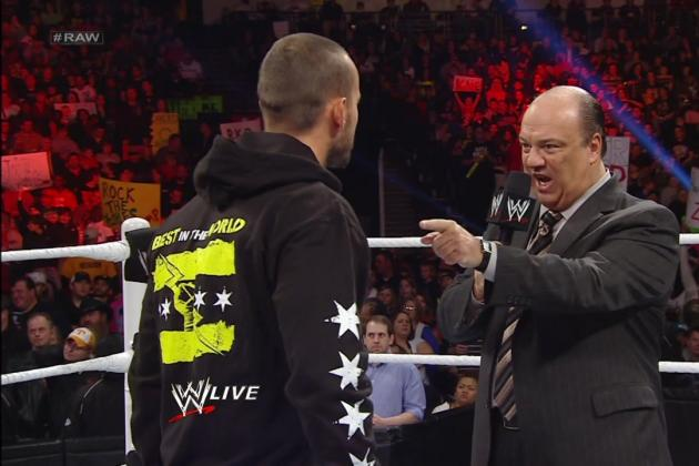 WWE Payback: Are Paul Heyman's Actions Leading to a CM Punk Babyface Turn?