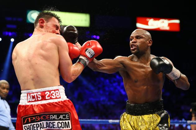 How Worried Should Floyd Mayweather Be About Canelo Alvarez's Size Advantage?