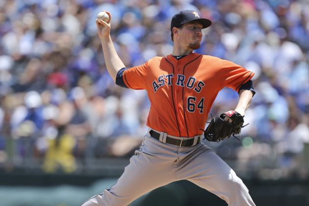 After Harrell Exits, Astros Drop Pitcher's Duel to Royals