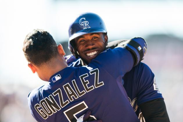 Dexter Fowler Gives Rockies Wild Win in 10th over Padres at Coors Field