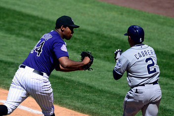 Photos: San Diego Padres vs Colorado Rockies on Sunday
