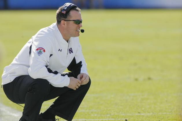 Northwestern Coach Pat Fitzgerald Talks Academics, Recruiting and the Big Ten