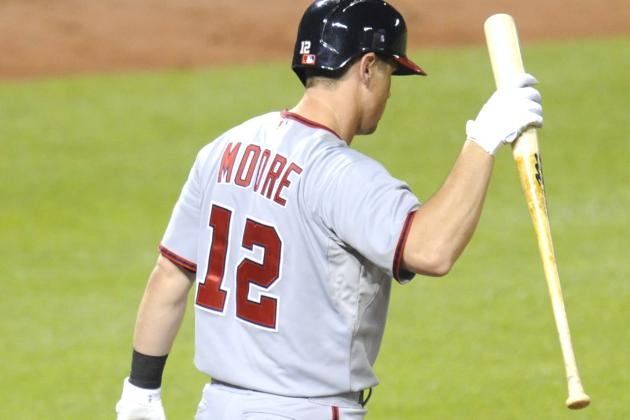 Nats Option Tyler Moore to Triple-A