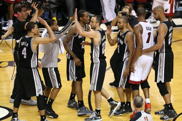 NBA Finals Are San Antonio Spurs' Farewell and Welcome Party