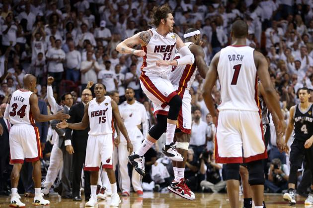 More Aggressive Heat Go on 33-5 Run to Blow out Spurs in Game 2, Even Series