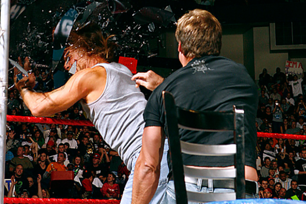 WWE's 5-Year Anniversary of Y2J Breaking the Jeritron with HBK's Face