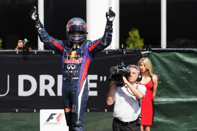Canadian Grand Prix 2013: Sebastian Vettel Will Go Down as F1's Greatest Driver
