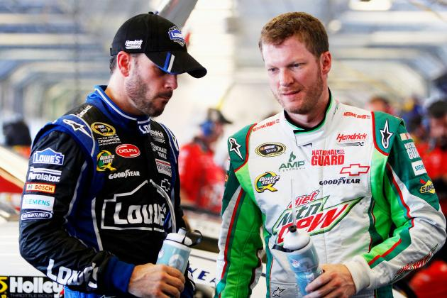 Pocono Could Start Hot Streak for Johnson, Earnhardt Jr.