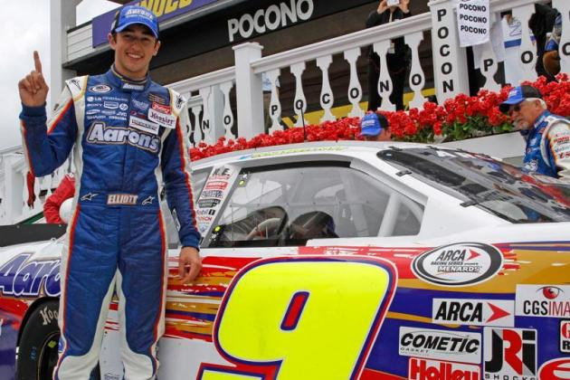 17-Year-Old Chase Elliott Becomes Youngest ARCA Racing Series Winner