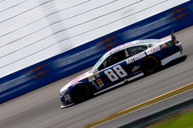 Dale Jr. Contends for Win, Finishes Third at Pocono