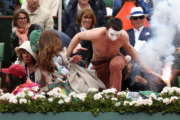 French Open Protester Must Force Security Upgrades at Tennis Events