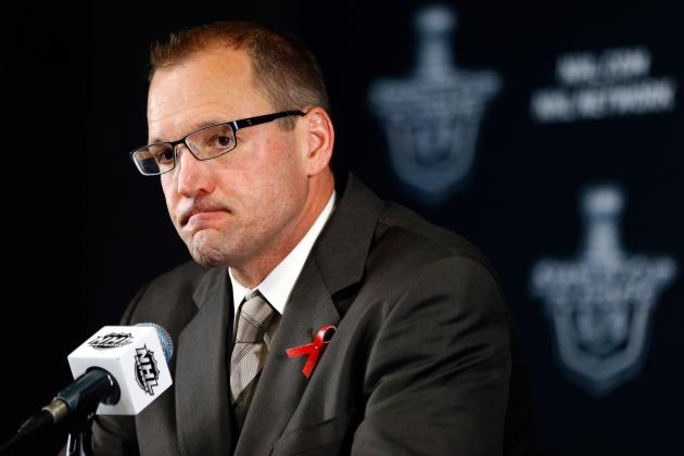Firing Dan Bylsma as Penguins Head Coach