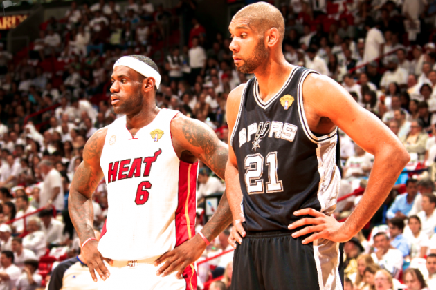 LeBron James vs. Tim Duncan: Two Polar Opposite Paths To NBA Superstardom