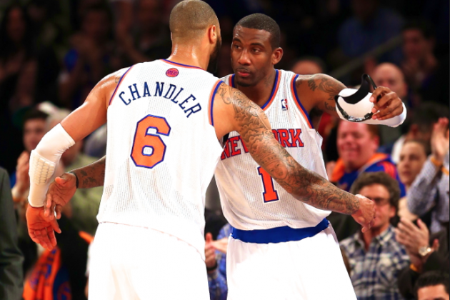 Is the Amar'e Stoudemire-Tyson Chandler Pairing NY Knicks' Real Problem?