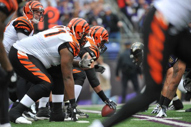 Bengals Offensive Line Getting to Gel