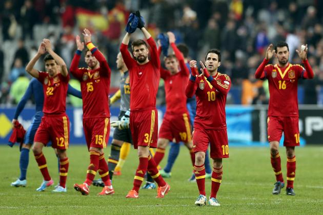 Spain vs. Ireland: Date, Time, Live Stream, TV Info and Preview