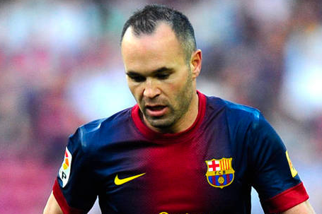 Iniesta Hits out at Mourinho
