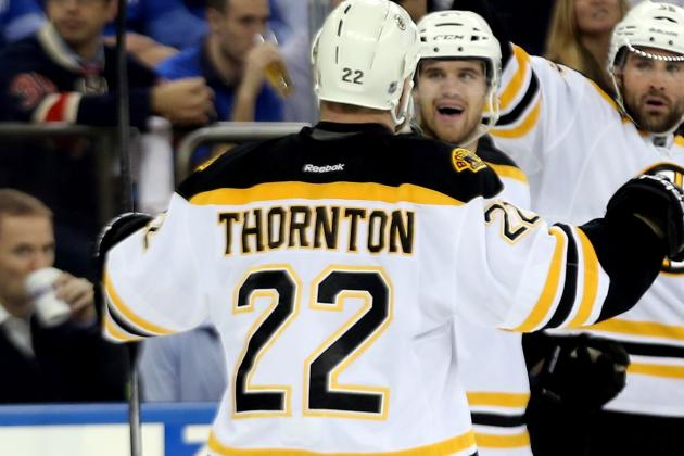 Shawn Thornton on D&C...
