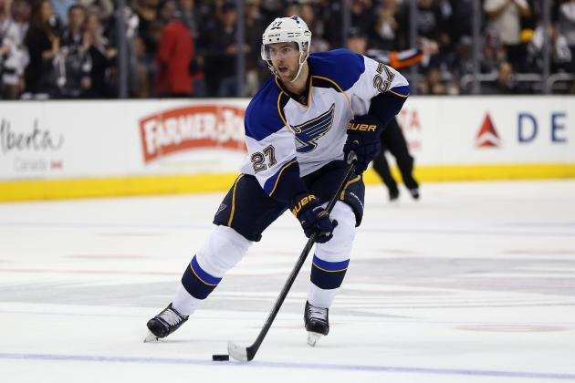 Blues to Match Any Offer Sheet to Pietrangelo, Shattenkirk, Stewart, Berglund