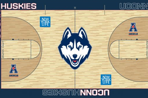 UConn Releases Visual of Its New Basketball Court
