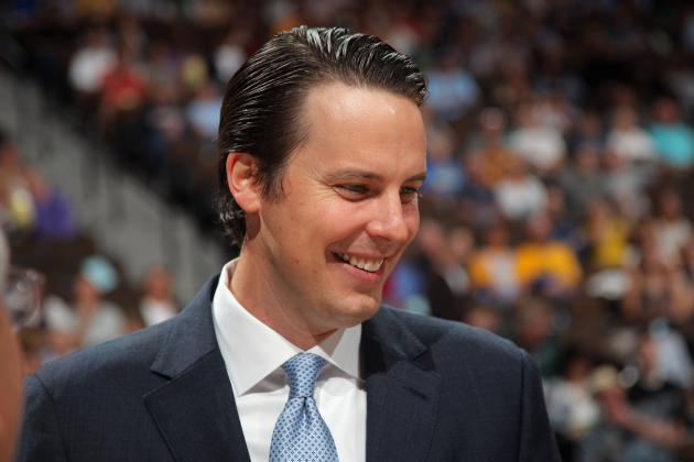 Josh Kroenke in Sole Control of Team Vision as Nuggets President