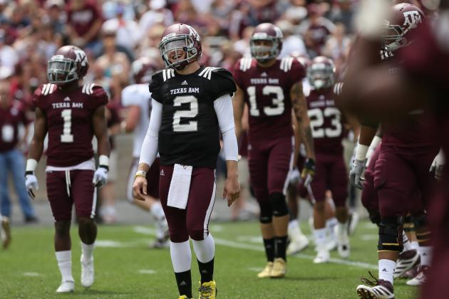 Texas A&M Football: Aggies in Danger of Losing Starting Spots in 2013