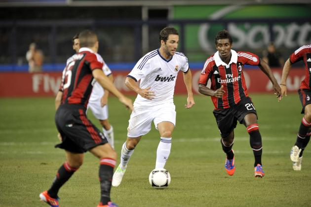 Arsenal Transfer Rumours: Gonzalo Higuain Would Help Team Compete for EPL Title