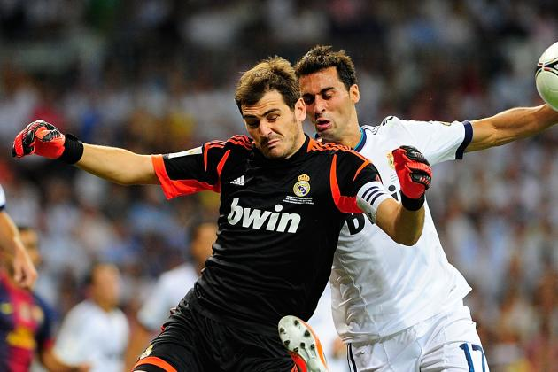 Real Madrid's Alvaro Arbeloa Plays Down Iker Casillas Rift
