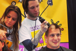 Good Guy Gronk Gets His Head Shaved for Charity