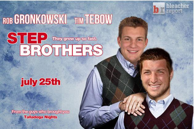 Tim Tebow and Rob Gronkowski in the Same Locker Room?