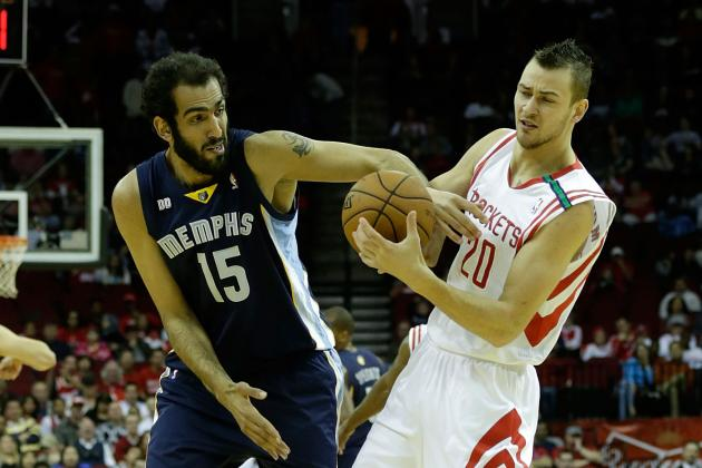Why Donatas Motiejunas Is the Houston Rockets' Third Biggest Asset