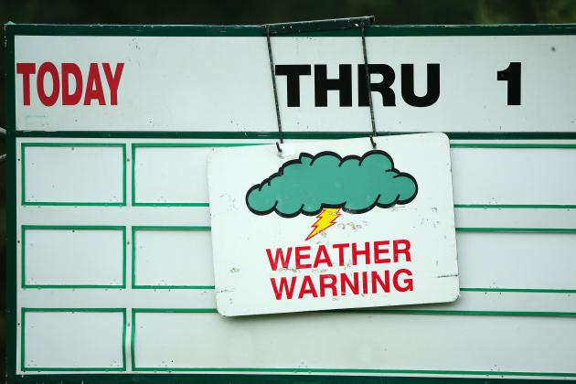US Open: Merion is Already Very Wet, and It's Going to Be a Major Issue
