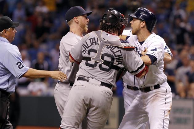 John Lackey vs. Matt Joyce: Who Was to Blame for Red Sox-Rays Drama
