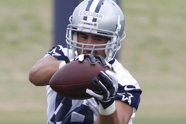 Dallas Cowboys TE Gavin Escobar 'expecting to Be on the Field'