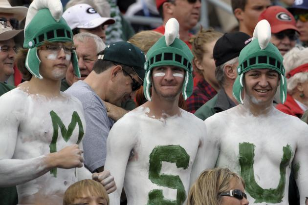 Mark Hollis Wants MSU Students to Attend, Stay at Football Games