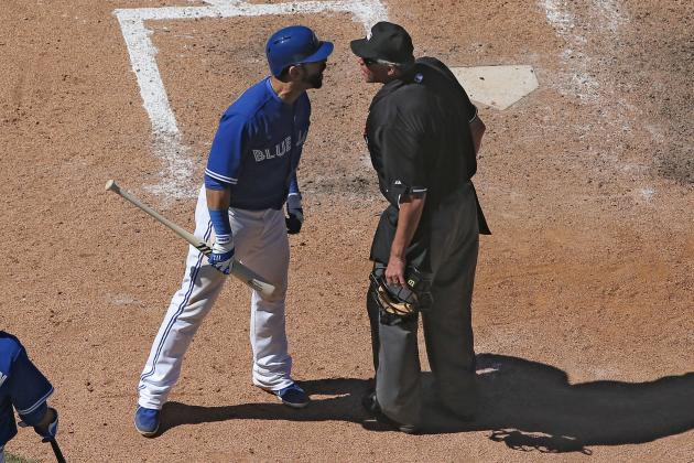 "Rangers Broadcaster Ton Grieve Calls Jose Bautista A""crybaby"""