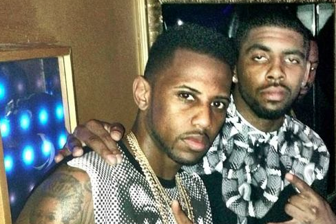 Kyrie Irving Parties with Fabolous in Miami