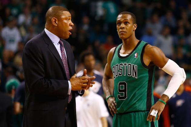 Boston Celtics' Rajon Rondo Admits He's Never Been Easy to Coach