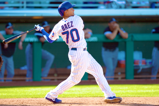 Is Top Prospect Javier Baez's 4-Home Run Game a Sign of Superstar MLB Future?