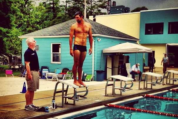 INSTAGRAM: Michael Phelps Fuels Return Rumors
